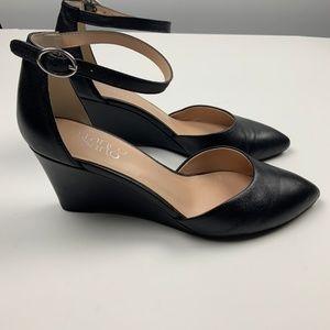 Franco Sarto Shoes - NWOT Franco Sarto Fayth Wedge Heel Pumps Black